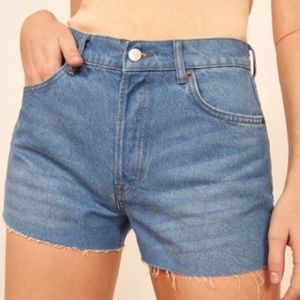 Reformation Dixie High Rise Jean Short